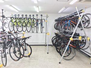 店内自転車